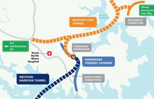 Beaches Link Plan Assist